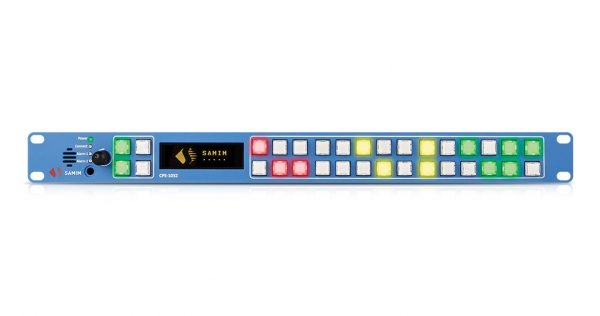 کنترلپنل با نمایشگر OLED و مسیردهی از طریق پروتکل TCP/IP