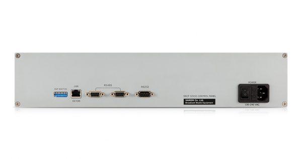 کنترلپنل دو یونیت، مسیردهی از طریق شبکه LAN