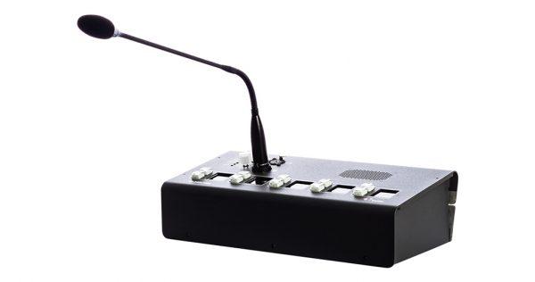 پنل سخت افزاری رومیزی اینترکام بر بستر IP