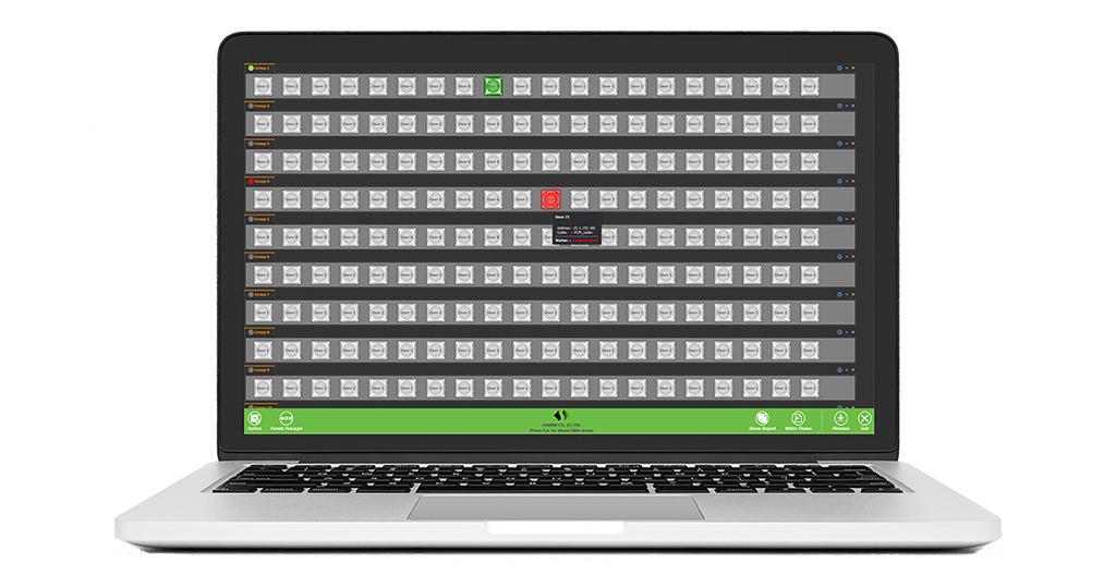 پنل نرم افزاری اینترکام تحت سیستم عامل ویندوز