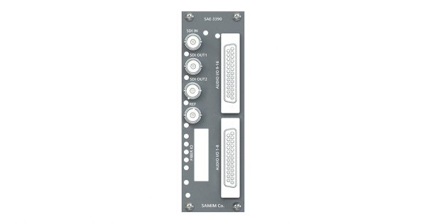 امبدر صدای آنالوگ و دیجیتال روی سیگنال 3G/HD/SD-SDI