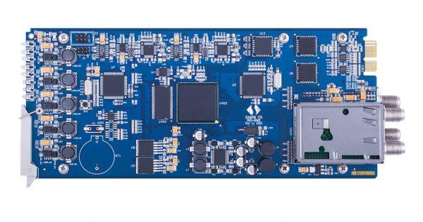 گیرنده و مبدل دوکاناله سیگنال ماهوارهای به ASI وIP