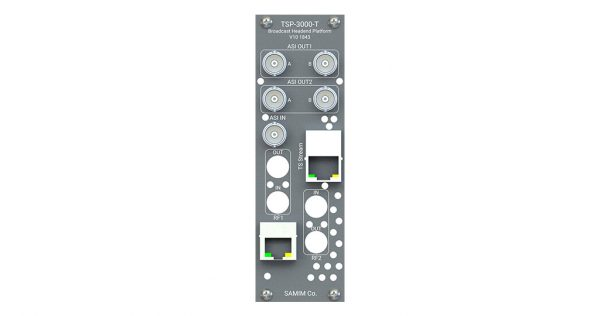 کارت پردازشگر و ریمالتی پلکسر سیگنال TS